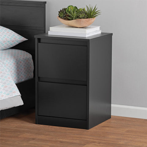 Mainstays Westlake Nightstand, Black