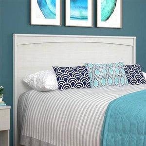 Crescent Point Full Size Headboard, Vintage White
