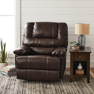 Better Homes & Gardens Moore Deluxe Rocking Recliner,Dark Brown