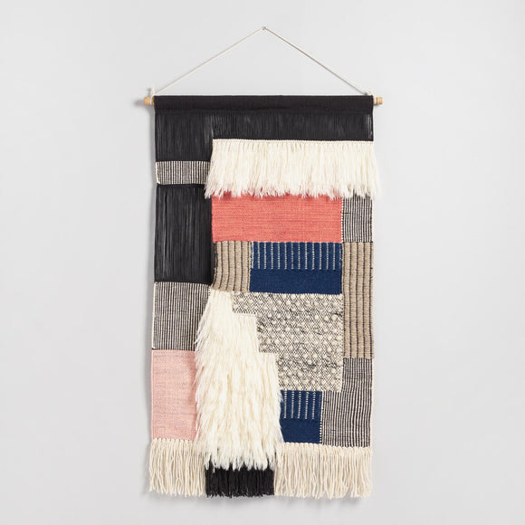 Patchwork Woven Wall Hanging