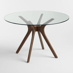 Round Glass Top Briana Table