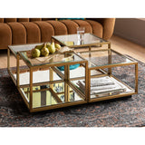 Coffee Table Luigi Gold