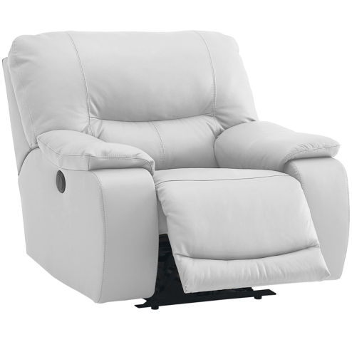 Motion Possibilities Wallace Wall-Hugger Recliner | White