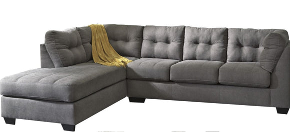 Charcoal 2-Piece Sectional