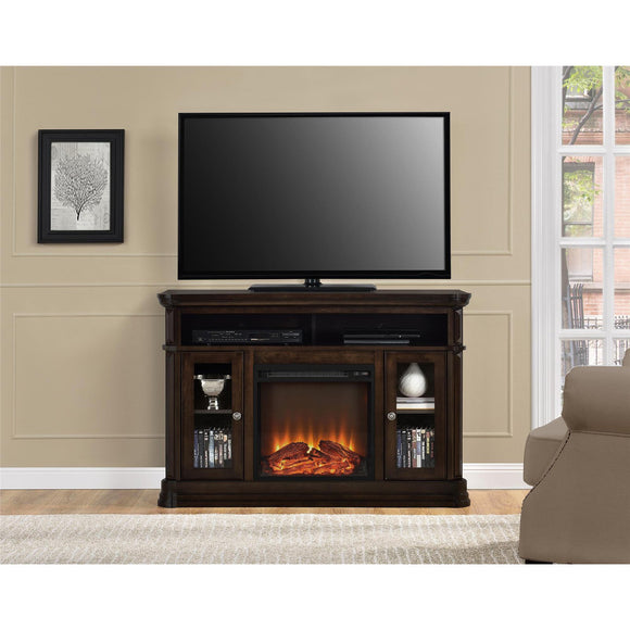 Electric Fireplace TV Console
