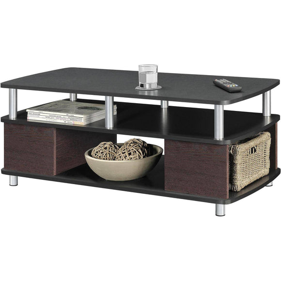 Ameriwood Home Carson Coffee Table, Black