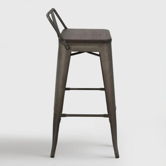 Espresso Arwen Low Back Barstools