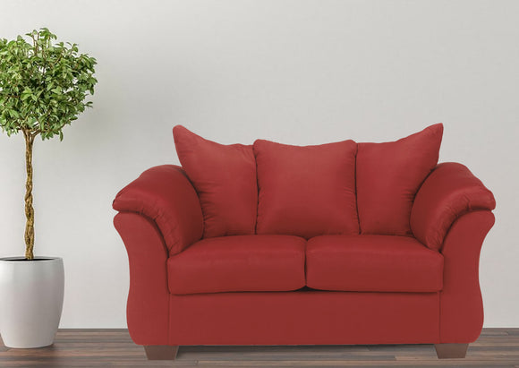 Madeline Pad-Arm Upholstered Loveseat