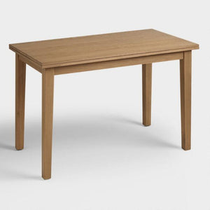 Oak Gilmore Flip Top Expandable dining Table
