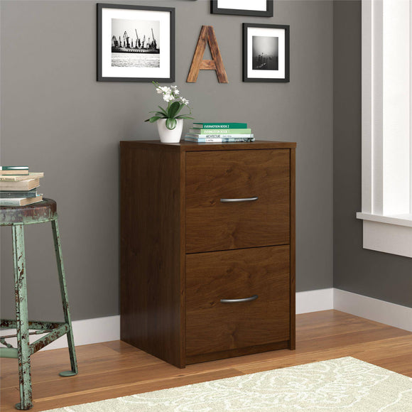 Ameriwood Home Core 2 Drawer File Cabinet - Color: Northfield Alder