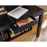 Ameriwood Home Parsons Desk with Cubbies, Black