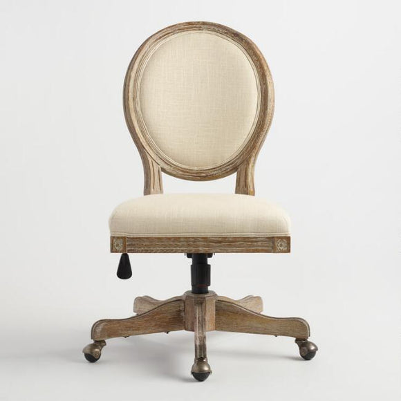 Round Back Office Chair