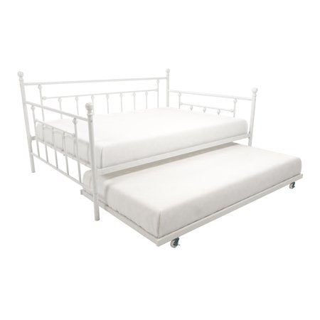 DHP Manila Daybed with trundle - White