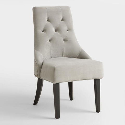 Dove Gray Dining Chair