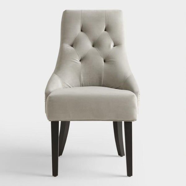 Dove Gray Lydia Upholstered Chair