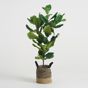 Faux Fiddle-Leaf Fig Plant