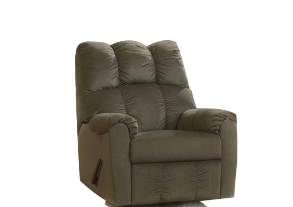 Raulo Rocker Recliner - Choclate