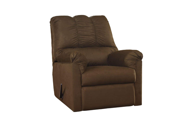 Darcy Rocker Recliner in Microfiber
