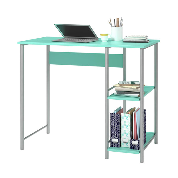2 shelves study desk