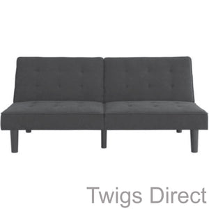 Mainstays Arlo Tufted Upholstered Futon Couch