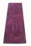 "nuLOOM Rugs Stone Washed 2'8"" x 8' Pink Runner"