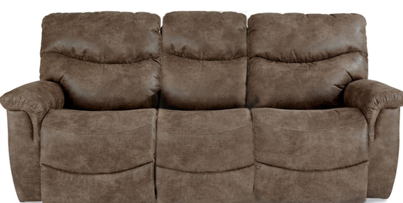La-Z-Boy James Light Brown Reclining Sofa