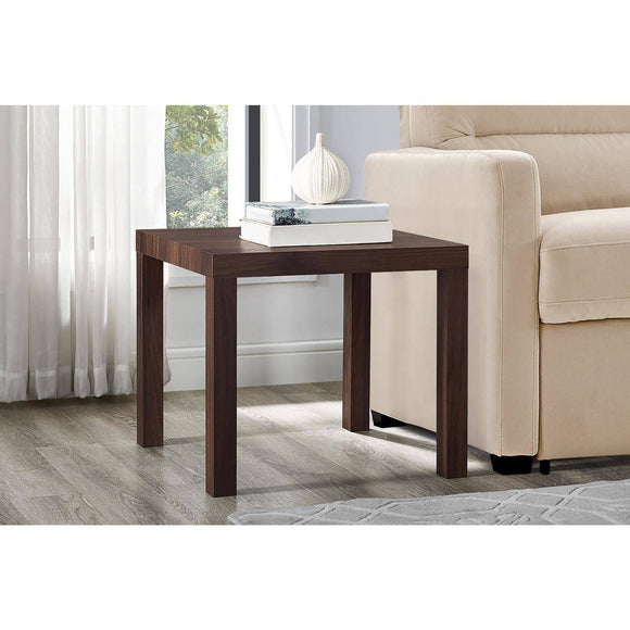Mainstays Parsons Square End Table