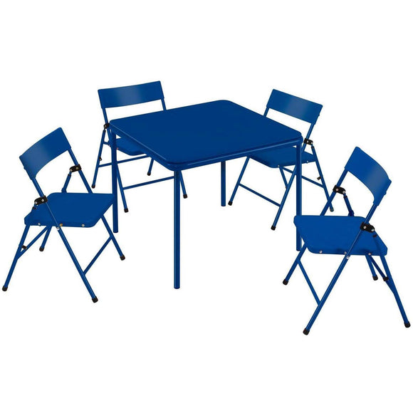 Safety 1st Children's Folding Table and chair(Set of 5), Blue