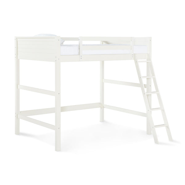 Your Zone Full Size Loft Bed, White