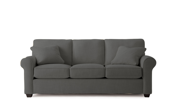 Fabric Possibilities Roll Arm Sofa