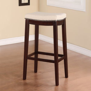 Fabric Top Bar Stool