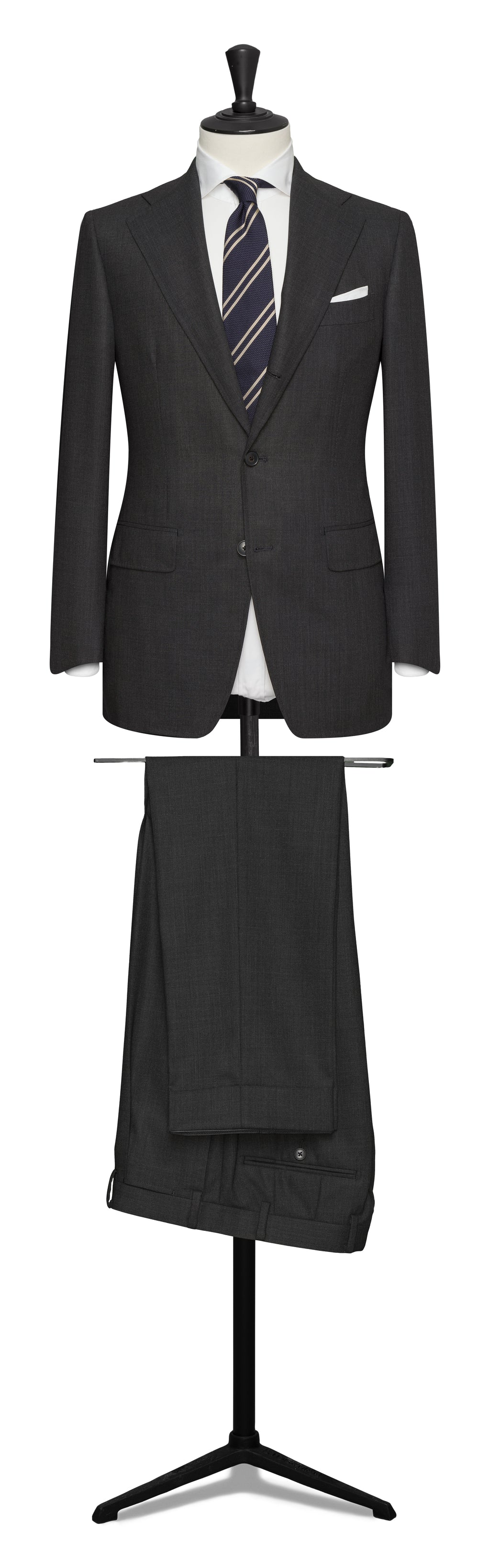 The Traveler Suit in Charcoal