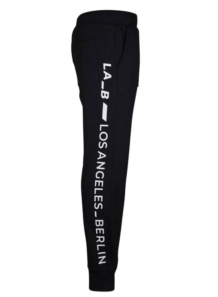 LA-B Logo Stripe Sweatpants White Reflective women