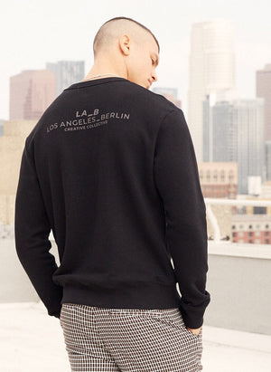 LA-B Sweatshirt Classic black men