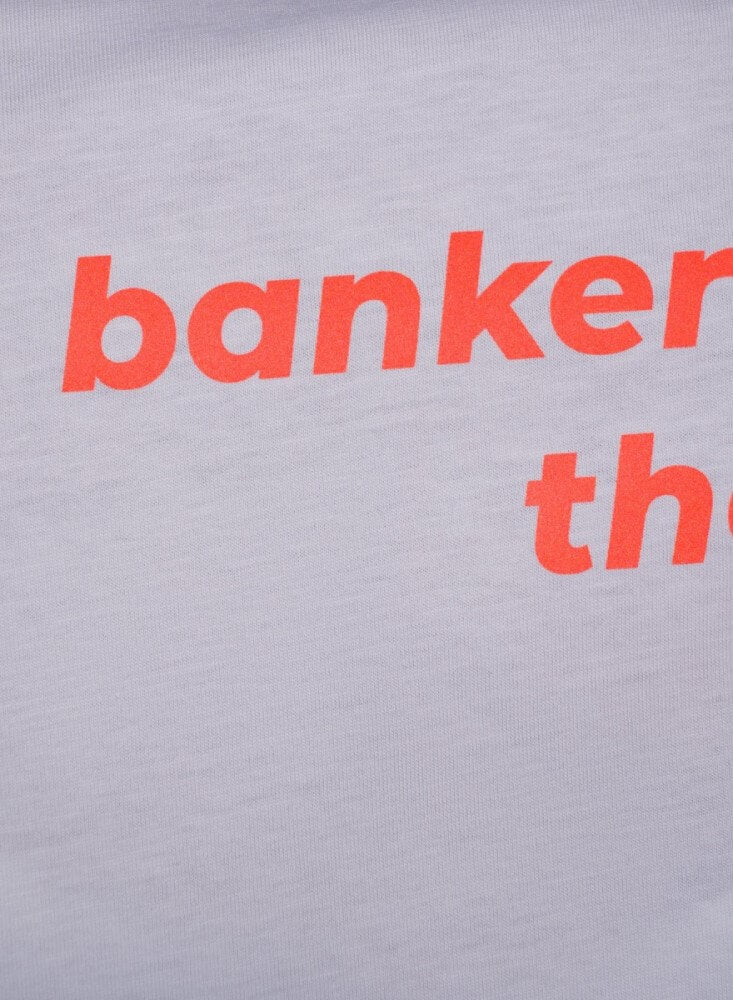 LA_B T-Shirt Bankers white men