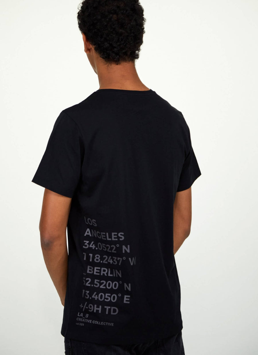 LA_B Big Data T-shirt men