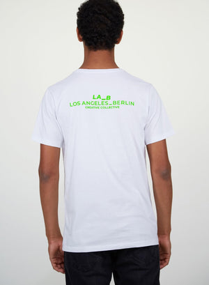 LA_B Classic T-Shirt Neon Green men