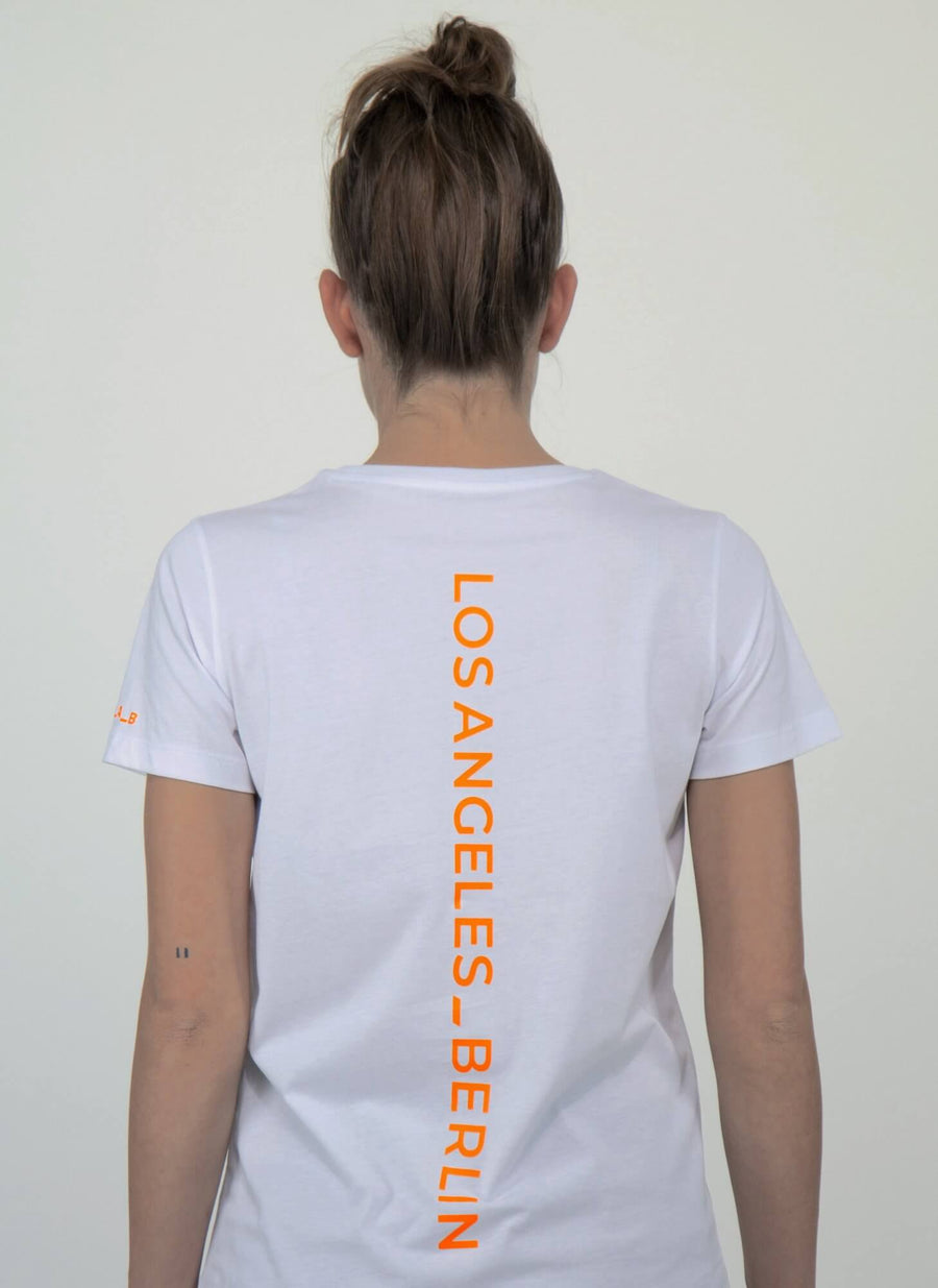 LA_B Classic T-shirt Neon orange women