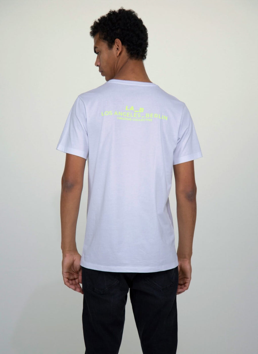 LA_B Classic T-shirt Neon Yellow men