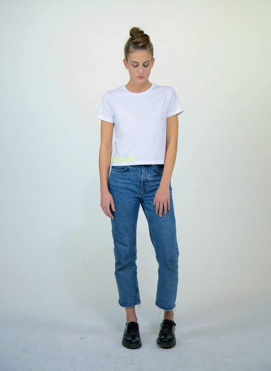 LA_B Cropped T-Shirt City women