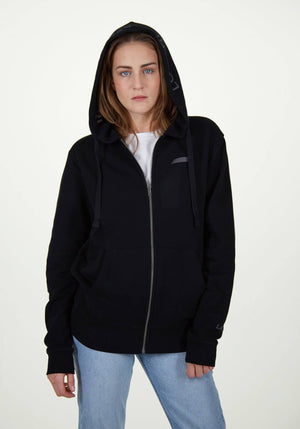 LA_B Classic City Hoodie Jacket black women