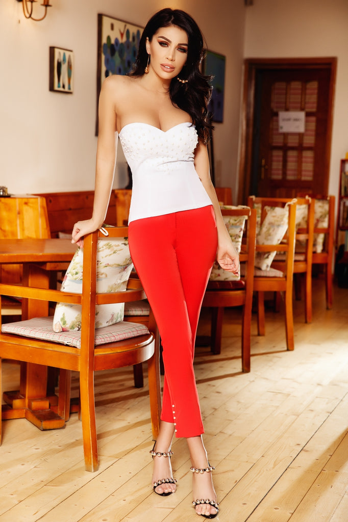 SLIM - ANKLE PANTS P 973