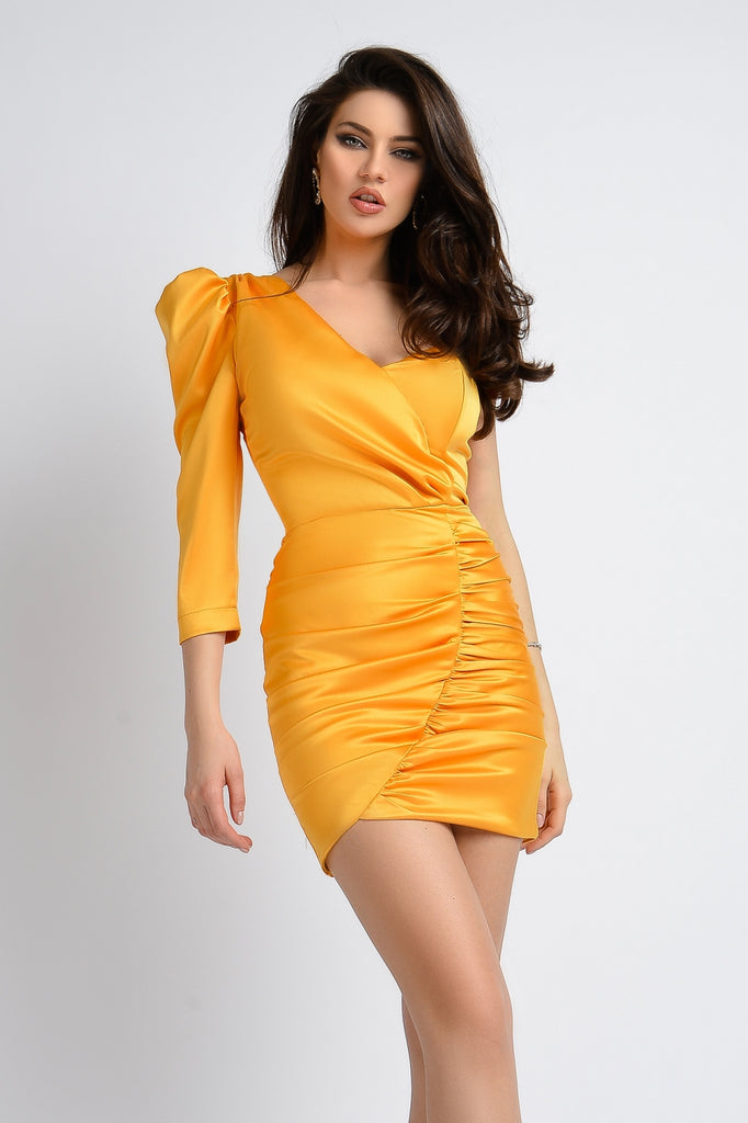ONE SHOULDER DRESS RN 2339