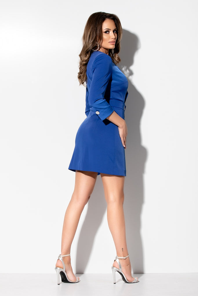 SEXY BLUE BLAZER  DRESS RN 2271