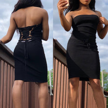 Load image into Gallery viewer, Queen Mini Dress - Delirious Boutique
