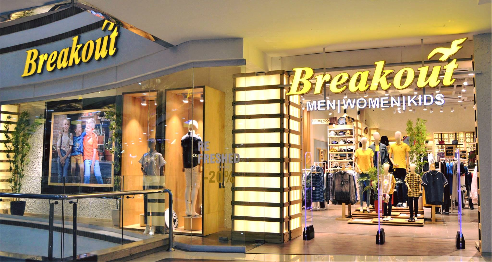 Breakout - Men, Women, Girls, Boys & Kids Clothing Online Store