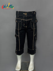 Girls Denim Capri