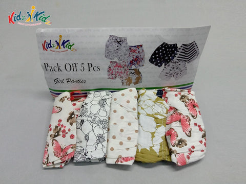 Girls Panty 5 Pcs