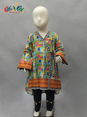 Girls Kurti with Trouser