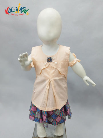Girls Skirt Suit